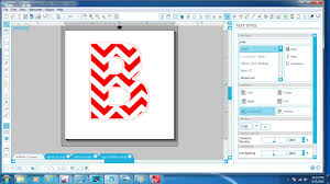 how to make a chevron letter a silhouette studio tutorial youtube