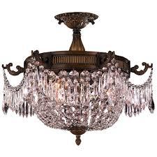 Semi Flush Mount Ceiling Light Worldwide Lighting Semi Flush Ceiling Lighting Goinglighting