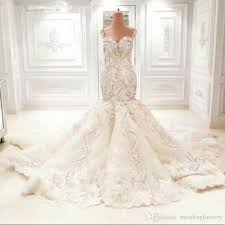 luxury mermaid wedding dresses luxury wedding dresses dubai dresses mermaid trumpet fit