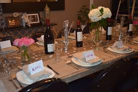 setting a table setting a table for dinner party home design inspirations