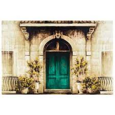 Wall Decor Canvas Cream U0026 Blue Door Canvas Wall Decor Hobby Lobby 233098