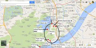 Hash Map Hangzhou Hash House Harriers Hzh3 Hash 185 Steers And