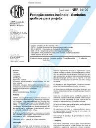 Basta NBR 14100 - Simbolos de Protecao Contra Incendio #FR92