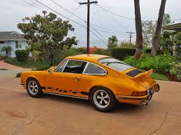 Porsche 911 Orange - car inventory update 1973 porsche 911 rs touring historic