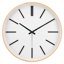 test of time silent wall clock decomates