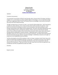 Sample Resume For Physical Therapist by Resume Cover Letter Physical Therapist Resume Ixiplay Free