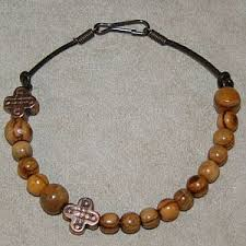 decade rosary olivewood rosary bracelet gracemary