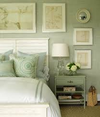 sage and blue bedroom decorating ideas to enhance the look of a