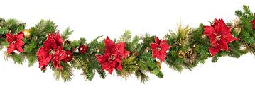 Red And White Christmas Lights by Decorative Garland Crimson Harvest Battery Operated Led