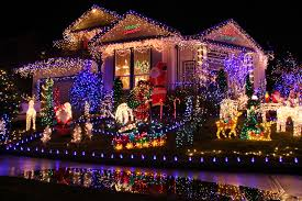 decorated homes for christmas christmas light decorated houses rainforest islands ferry
