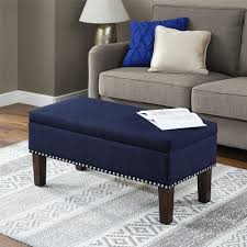 Hinged Storage Ottoman Kasey Storage Ottoman Will Make A Great Addition To Your Entryway