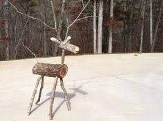 sun smart rudolph the log based reindeer diy decoration