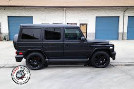 mercedes jeep 6 wheels mercedes benz g55 amg wrapped in satin black white wrap bullys