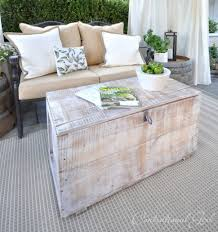 White Wash Coffee Table - how to whitewash furniture centsational guest posts the