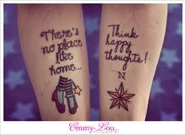 thigh tattoos quotes quote wizard of oz tattoo go back u003e pix for u003e wizard of oz