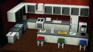 minecraft kitchen furniture minecraft modern kitchen designs xamthoneplus us