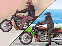 bike riding gear the best way to ride a motorcycle beginners wikihow