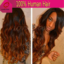 honey weave weave 6a ombre hair
