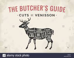 butcher shop black and white stock photos butcher shop black and poster butcher diagram scheme venisson stock image