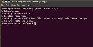 apk tool android decompiling resources of apk files using android
