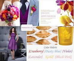fall color palette cranberry violet gold lavender u0026 blush pink