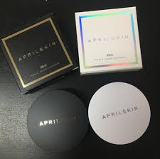 high quality april skin face pressed powder bb cream face makeup