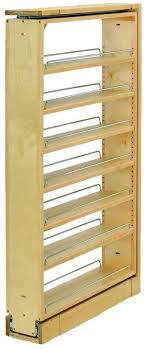 6 inch upper cabinet rev a shelf 432 tf45 6c 432 series 6 inch wide by 45 inch tall