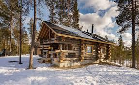 winter cabin finland log cabin holidays