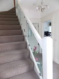Glass Banisters For Stairs Glass Balustrade Suppliers Livingston Edinburgh U0026 Lothians Uk Jbc