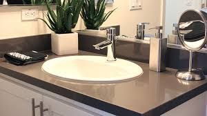 Bathroom Countertop Decorating Ideas by Quartz Bathroom Countertops Countertop For Vanity Cabinet With