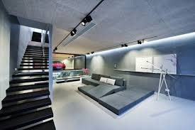 modern house garage unconventional hong kong house makes the garage part of the living