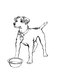 dog coloring pages online free printable dog coloring pages for kids