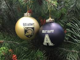 go army beat navy two pack shatterproof ornaments daughters of