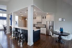 kitchen island columns st louis load bearing columns kitchen traditional with aluminum