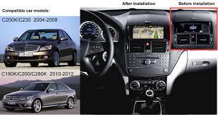 Mercedes C Class Coupe 2008 Mercedes Benz C Class 2008 2011 Car Gps Navigation Dvd Player