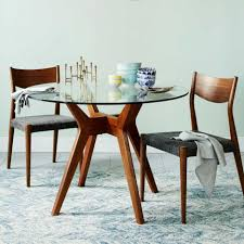 should i pick the round glass dining table dining room white base