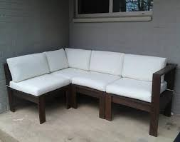 simple modern outdoor sectional diy outdoor furniture tutorials