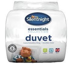 Silent Night 7 5 Tog Duvet Buy Silentnight Essentials 10 5 Tog Duvet Double At Argos Co Uk