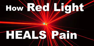 led near infrared light how red light heals pain and inflammation red light and near