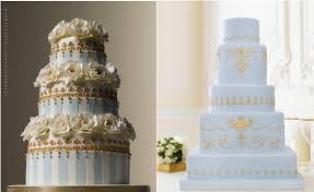 wedding cakes in pale blue cake geek magazine