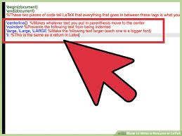 What Is An Resume 8 Ways To Write A Resume In Latex Wikihow
