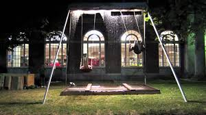 you have to see this waterfall swing set to understand how