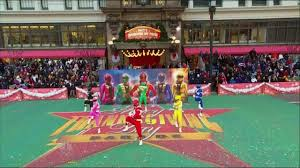 power rangers megaforce macy s 87th thanksgiving parade