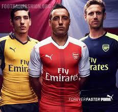 arsenal puma deal arsenal unveil 2016 17 puma away and third kits during usa tour