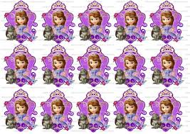 8 Best Images Of Sofia The First Cupcake Toppers Printable Sofia