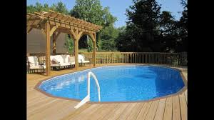 Deck Ideas For Backyard by Outdoor Uniquely Awesome Decks For Above Ground Pools For