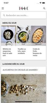 une recette de cuisine à table idées recettes dans l app store