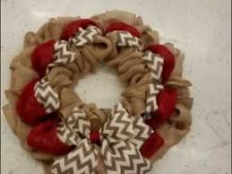 How To Decorate A Christmas Wreath Best 25 Burlap Wreath Tutorial Ideas On Pinterest Diy Burlap