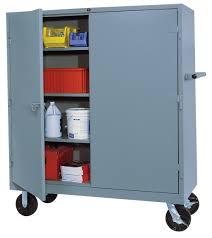 Metal Storage Cabinet Metal Storage Cabinets On Wheels Home Design Ideas