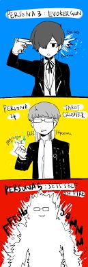 Card Crusher Meme - amamiya ren card crusher narukami yuu and yuuki makoto persona